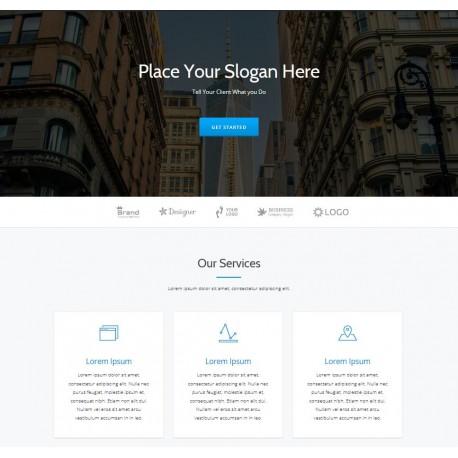 Hong Kong Web Design One Page