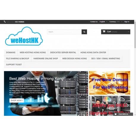 Hong Kong Online Shop Web Design