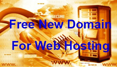 Free Domain New Registration for Web Hosting